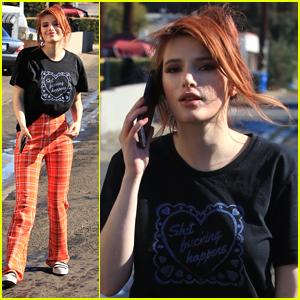 Bella Thorne Takes Short Break From Filming 'Famous in Love' in LA